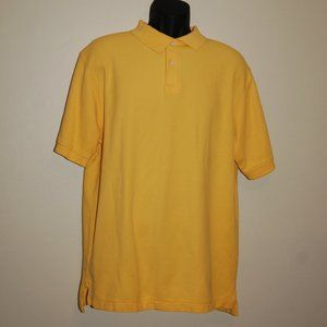 L.L. Bean Yellow Polo Size Large